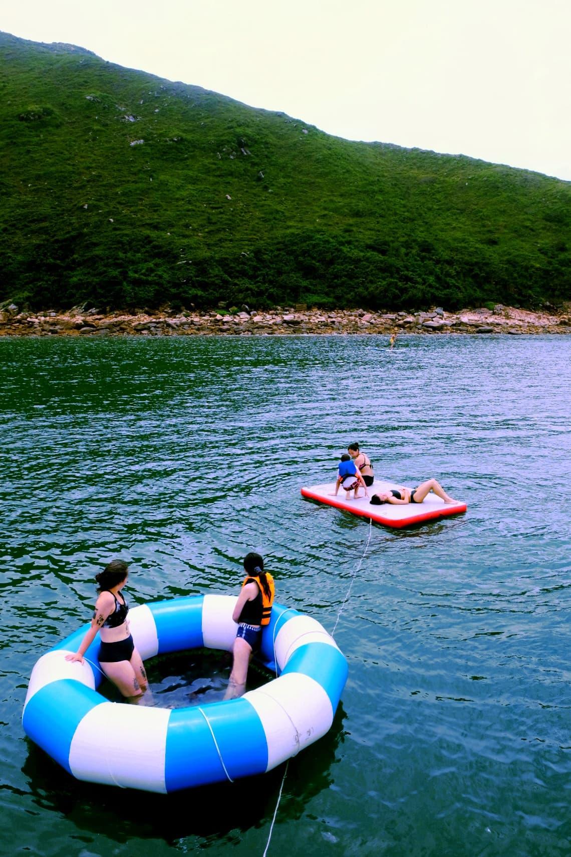 A Boat Trip to BluffIsland